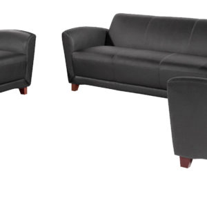 Lorell Club Chair, Loveseat and Sofa