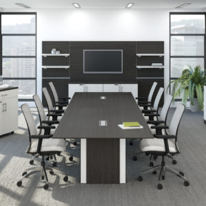 Boardroom Table with Electric Modules