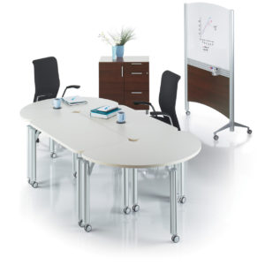 Modular Meeting Tables on Castors