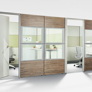 Private Offices with Multiple Panel Finishes